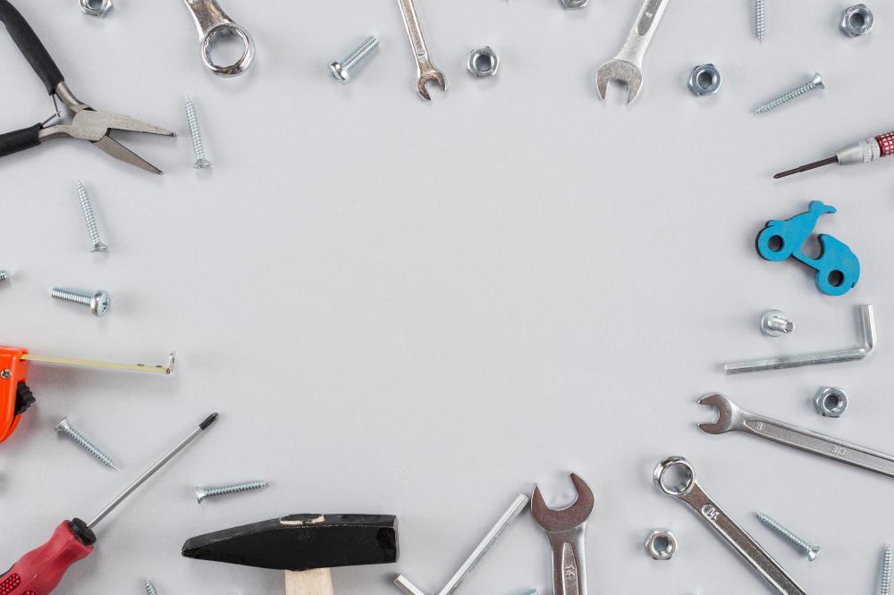 Several Metallic Tools