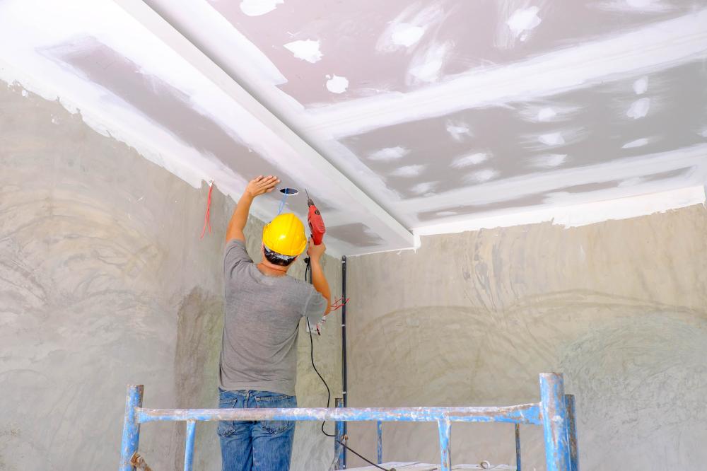 Building plasterboards
